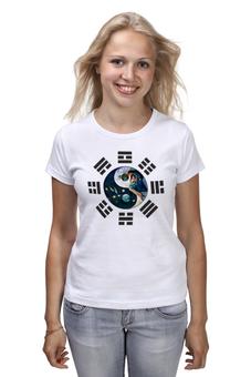 """Футболка классическая """"Багуа"""" - китай, иероглифы, защита, амулет, багуа"""