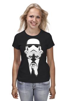 """Футболка (Женская) """"Штурмовик. Звёздные войны"""" - star wars, звездные войны, stormtrooper, костюм, штурмовик"""