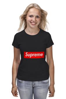 "Футболка классическая ""Supreme "" - арт, supreme, nyc, clothing"