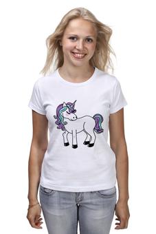 """Футболка классическая """"Единорог"""" - лошадь, пони, единорог, мифы, лошадка"""