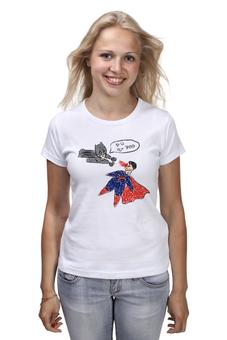 "Футболка классическая ""Бэтмен и Супермен"" - batman, superman"