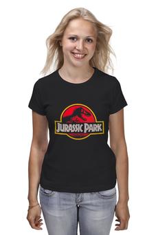 """Футболка классическая """"Jurassic Park / Парк Юрского Периода"""" - динозавры, афиша, парк юрского периода, jurassic park, kinoart"""
