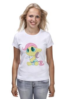 "Футболка (Женская) ""My Little Pony"" - my, pony, пони, маленькие, мои"