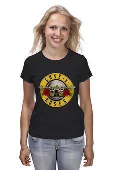 "Футболка классическая ""Guns'n'Roses t-shirt"" - old school, guns n roses, axl rose, ганз н розес, аксель роуз"