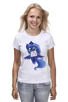 "Футболка (Женская) ""My little pony"" - арт, пони"