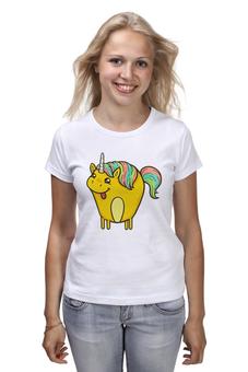 """Футболка классическая """"Единорог"""" - лошадь, единорог, пони, мифы, лошадка"""