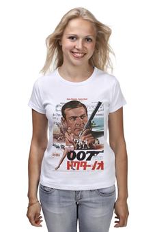 """Футболка классическая """"Dr No """" - 007, кино, иероглифы, james bond, джеймс бонд"""