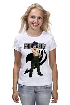 "Футболка (Женская) ""Грей Фуллбастер. Fairy Tail"" - аниме, манга, fairy tail, хвост феи, грей фуллбастер"