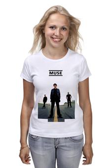 """Футболка классическая """"old school MUSE"""" - рок, muse, мьюз, для мьюзеров, мьюзеры, ьгыу"""