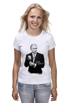 "Футболка классическая ""One & Only by Design Ministry"" - russia, путин, putin, president, oneandonly"