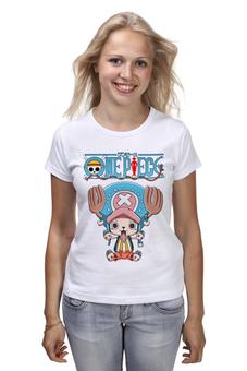"""Футболка классическая """"One Piece"""" - аниме, манга, ван пис, one piece, тони тони чоппер"""