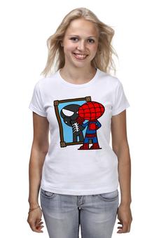 """Футболка классическая """"Человек паук"""" - spider man, веном"""