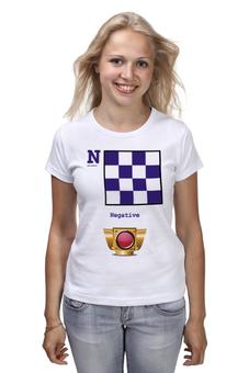 """Футболка (Женская) """"November (N), флаг МСС (eng) for girl"""" - море, флаг, яхтинг, мсс"""