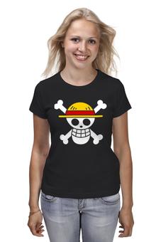 """Футболка классическая """"One Piece"""" - аниме, манга, ван пис, one piece, луффи соломенная шляпа"""