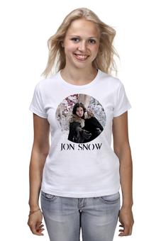"Футболка классическая ""Night Watch"" - игра престолов, game of thrones, jon snow, джон сноу, night watch"