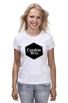 """Футболка классическая """"Cookie Bro."""" - cookie bro"""