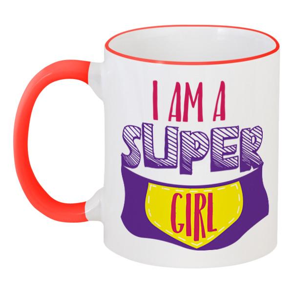 Printio Я супер девушка кружка супер жених с вашей надписью