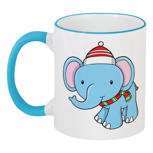Printio Слонёнок (новый год) цена и фото