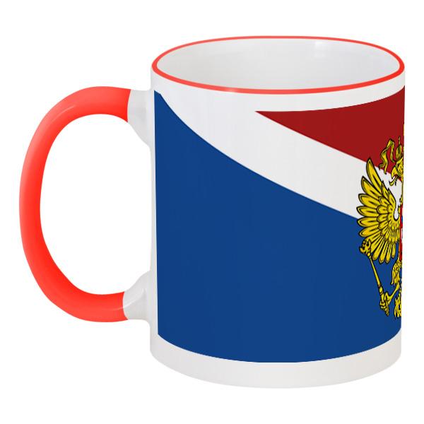 Printio Флаг россии николай николаевич глумов красный флаг над заводом