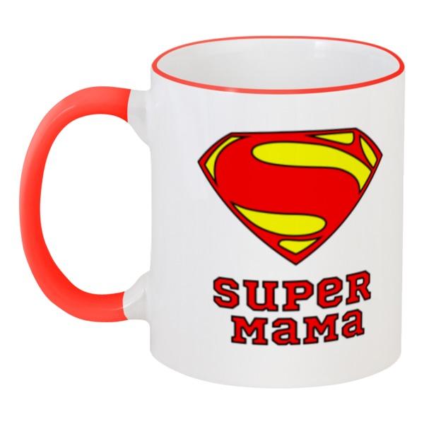Printio Супер мама кружка супер жених с вашей надписью