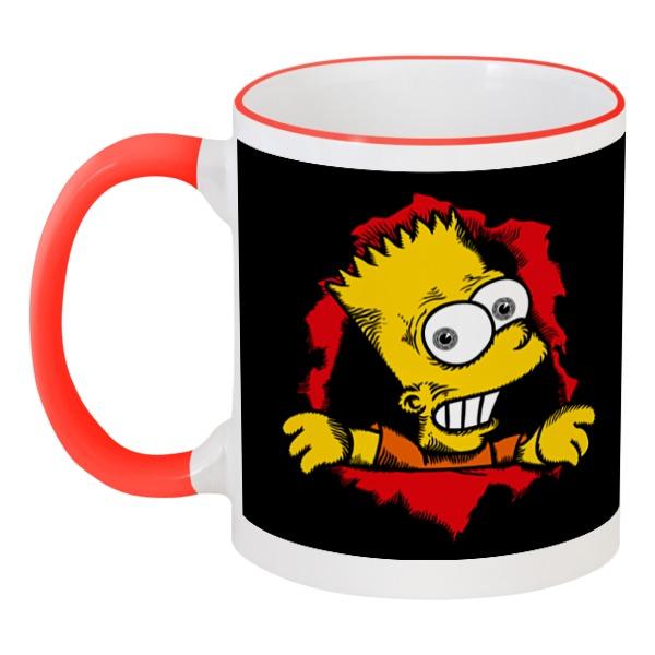 Printio Барт симпсон кружка printio абрахам симпсон