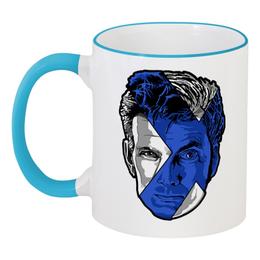 """Кружка с цветной ручкой и ободком """"Доктор Кто ( Doctor Who)"""" - doctor who, доктор кто"""