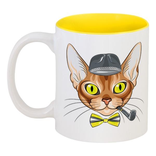 Кружка цветная внутри Printio Персидская кошка кружка цветная внутри printio кружка женщина кошка catwoman