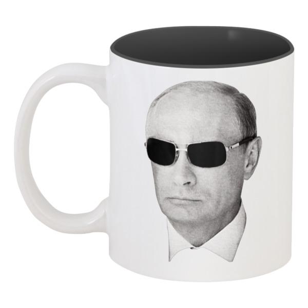 Кружка цветная внутри Printio Путин – всё путём