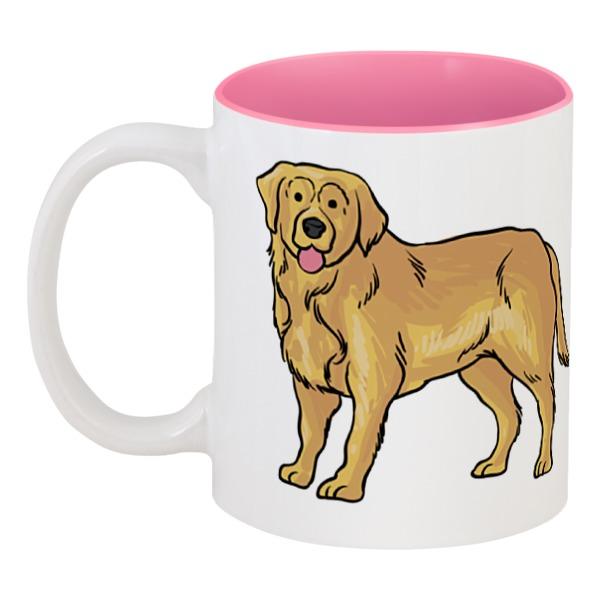 Кружка цветная внутри Printio Любимый пёс кружка printio пёс с косточкой