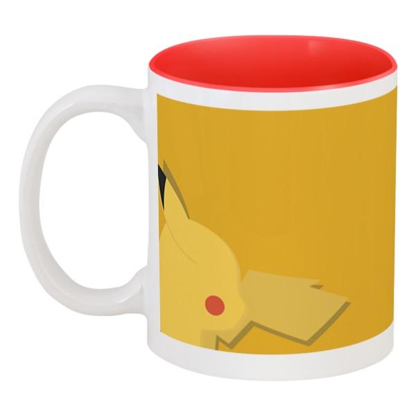 Кружка цветная внутри Printio Pokemon кружка цветная внутри printio пришелец ufo