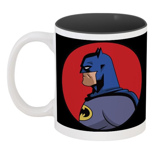 Кружка цветная внутри Printio Batman / бэтмен