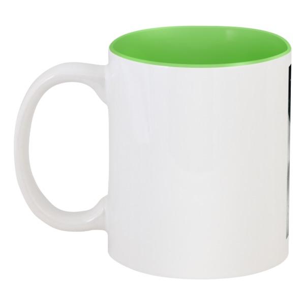 Кружка цветная внутри Printio Позвизд green printio кружка цветная внутри