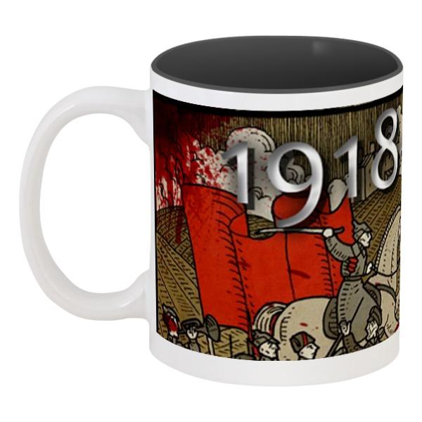 Кружка цветная внутри Printio Гражданская война россия против россии гражданская война не закончилась