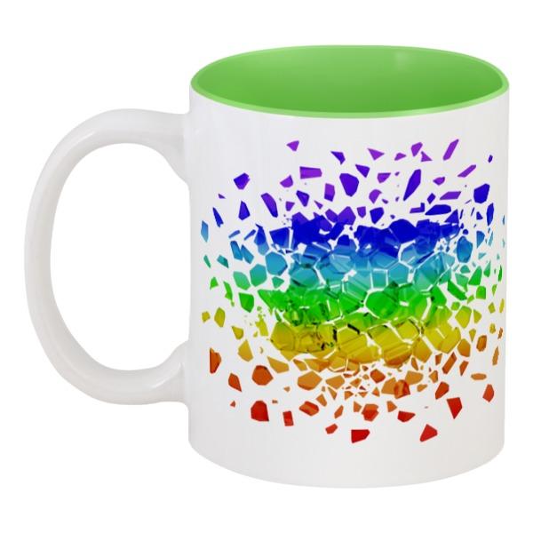 Кружка цветная внутри Printio Rainbow кружка цветная внутри printio rainbow