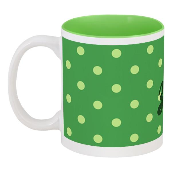 Printio Зелёный горошек зг зелёный цвет 6 9 months