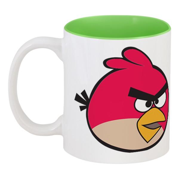 Кружка цветная внутри Printio Angry birds