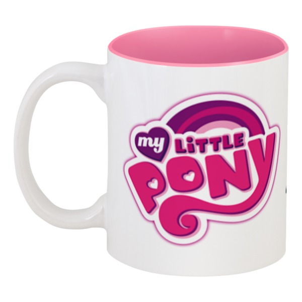 Кружка цветная внутри Printio My little pony my little pony my little pony игровой набор my little pony школа дружбы