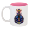"Кружка цветная внутри ""Легенды майя"" - оригинально, креативно"