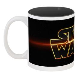 """Кружка цветная внутри """"Star Wars"""" - star wars, звездные войны, дарт вейдер"""