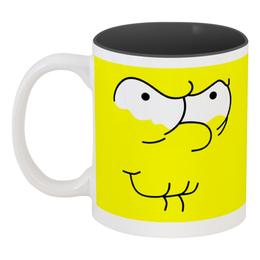 """Кружка цветная внутри """"Симпсоны"""" - симпсоны, the simpsons"""