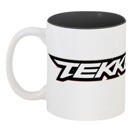 "Кружка цветная внутри ""Tekken 7"" - tekken, tekken 7"