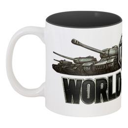 """Кружка цветная внутри """" World of Tanks"""" - world of tanks, танки, wot, tanks"""