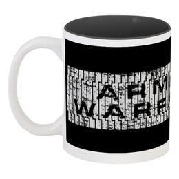 "Кружка цветная внутри ""Armored Warfare"" - игра, game, танки, aw, armored warfare"