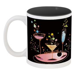 """Кружка цветная внутри """"напитки"""" - еда, купить, с рисунком, напитки, кружку"""