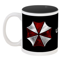 "Кружка цветная внутри ""Resident Evil"" - обитель зла, resident evil"