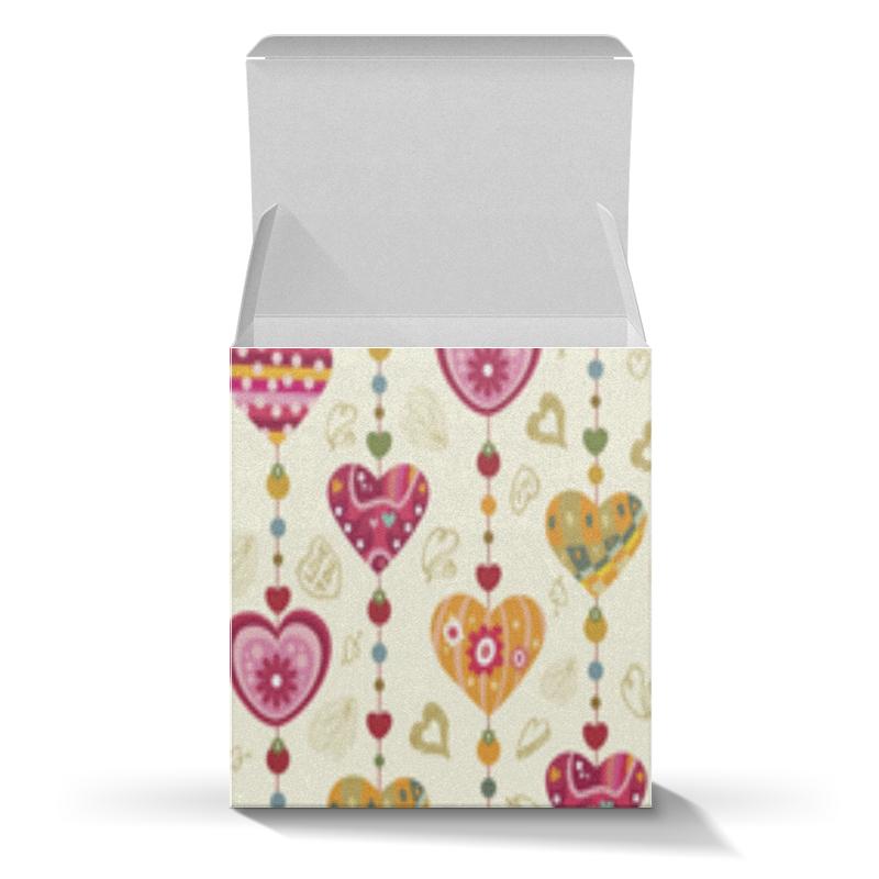Подарочная коробка-куб Printio Новый год старый новый год с денисом мацуевым