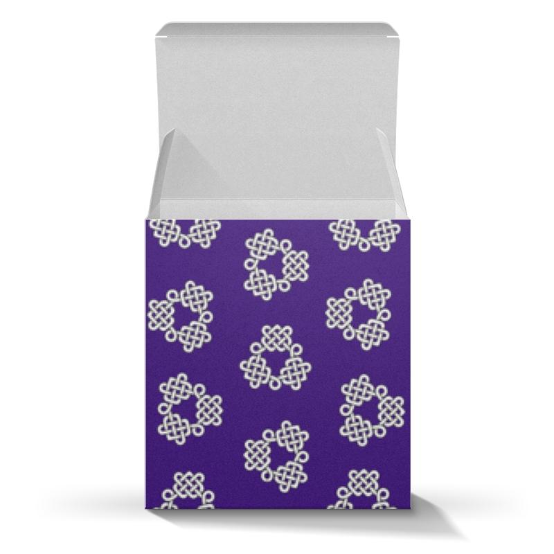 Коробка для кружек Printio Фиолетовая коробка с кельтспиннер узором браслет из аметиста фиолетовая полночь