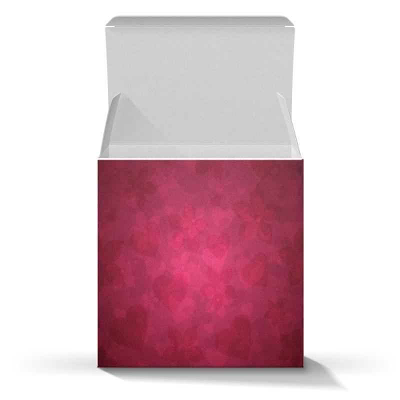Подарочная коробка-куб Printio Розовый куплю скутер 125 см куб б у