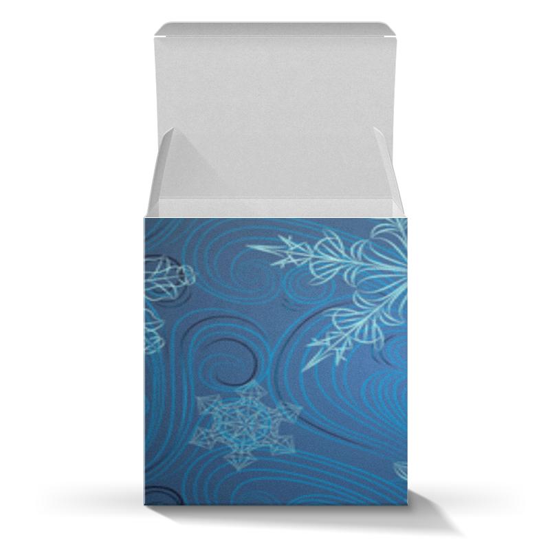 Printio Снежинки коробка для кружек printio радужная
