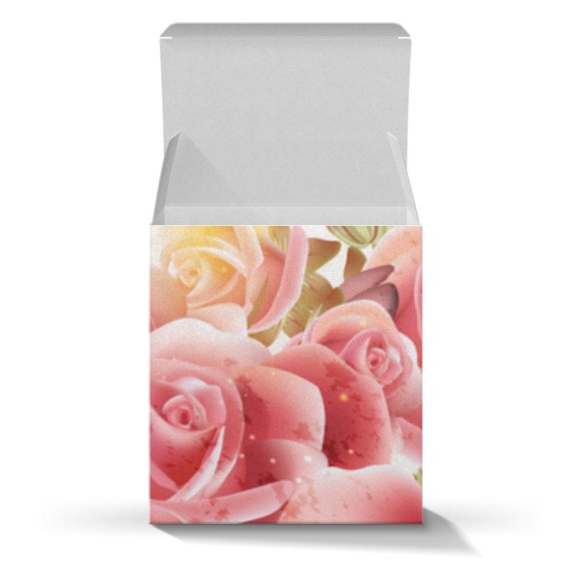 Коробка для кружек Printio Букет роз укрытие для роз shelterlogic 1м
